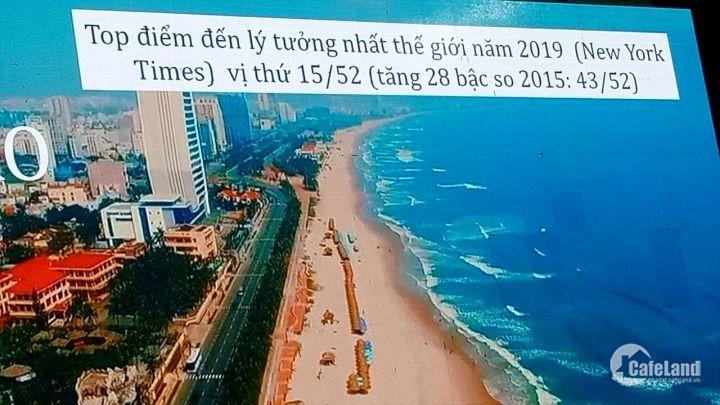 Căn hộ cao cấp dát vàn Risemount Đà Nẵng - View sông Hàn