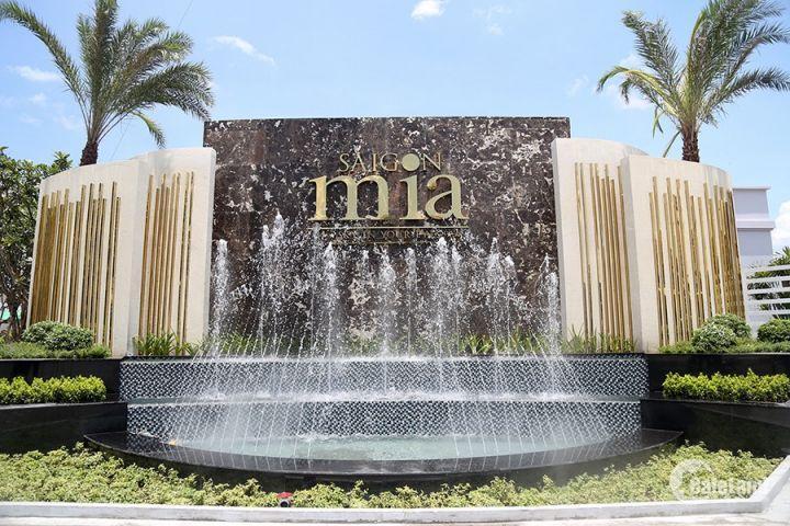 Bán căn hộ cao cấp Sài Gòn Mia mặt tiền đường 9A khu Trung Sơn,nhận nhà T6/2019.LH: 093.543.6677
