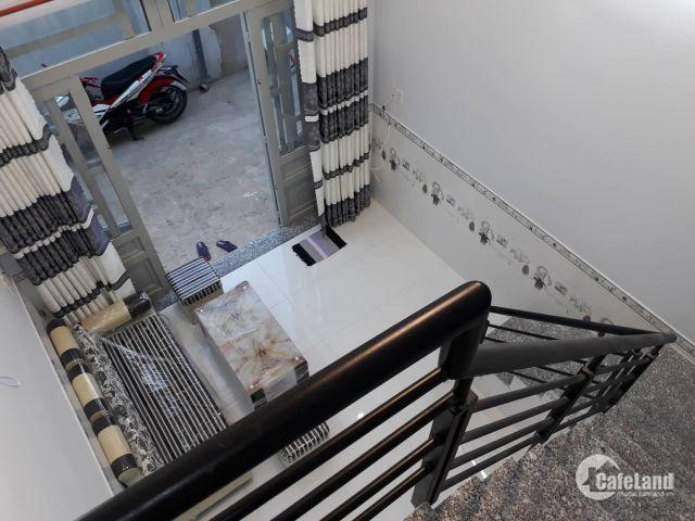 Bán nhà 1 trệt 1 lửng đường Nguyễn Thị Thảnh, Hóc Môn, tặng NT, giá rẻ