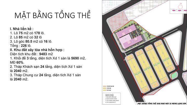 Mở bán SHOPHOUSE APEC DIAMOND PARK LẠNG SƠN QL1A, giá từ 2,6 tỷ/căn