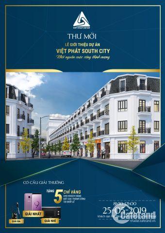Mở bán và công bố bảng hàng đợt 2 dự án Việt Phát South City giá chỉ từ 2,7 tỷ/căn - LH 0787.313.194