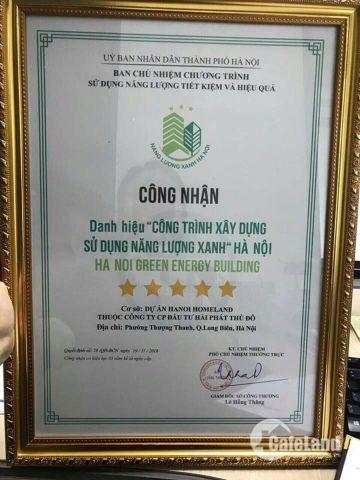 Chính chủ bán lại căn hộ chung cư Hà Nội Homeland ngã tư Cầu Chui