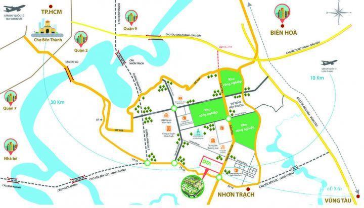 Chỉ 255 triệu nhận ngay nhà tại Nhơn Trạch, Đồng Nai.