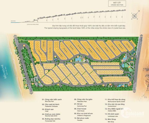Bán đất nền dự án Sentosa Villa - Mũi Né giá đầu tư - 0916590800