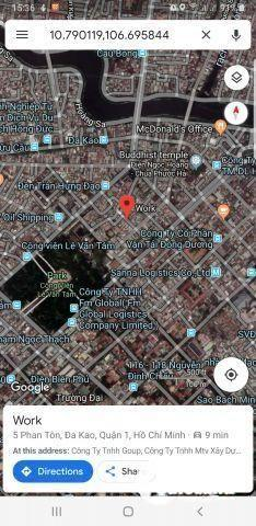 Bán Nhà Mặt Tiền số 5 Phan Tôn, trung tâm Quận 1 (giá rẻ dành cho đầu tư): 100 m2 (4×25); đường 8 m