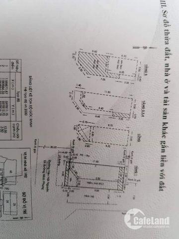 Bán nhà mặt tiền góc 1 trệt 5 lầu quận 11