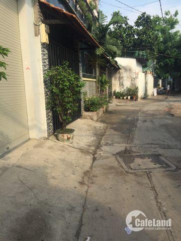 Nhà góc 2 mặt tiền đường Đông Hưng Thuận 02 P.Tân Hưng Thuận