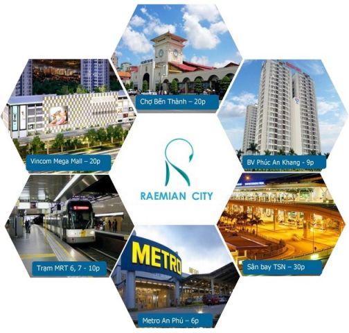 RAEMIAN GALAXY CITY_DT:54-144/m2_GIÁ 62-63triệu/m2