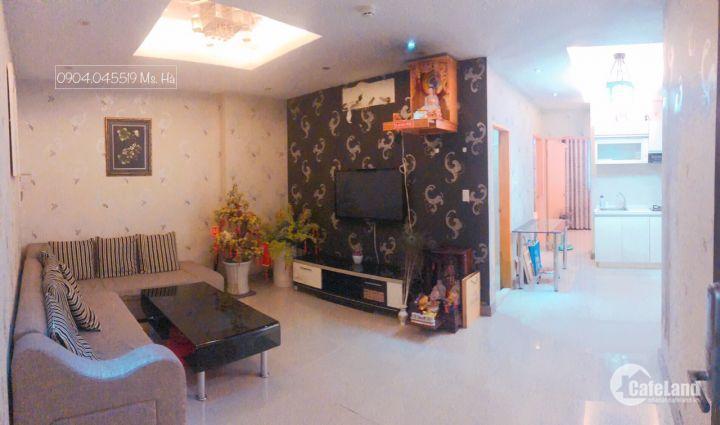 Bán gấp CH Hoàng Kim Thế Gia 2 phòng 2wc, full nội thất, sổ hồng