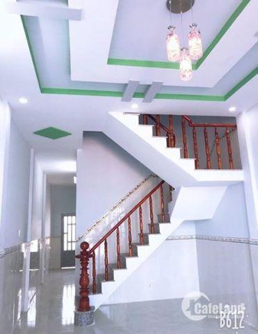 Nhà mới Tân Tạo 3 lầu, Hẻm 6m, SHCC. 2 tỷ 145tr