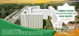 Căn hộ Green town , giá mềm cơ hội đầu tư ở Bình Tân