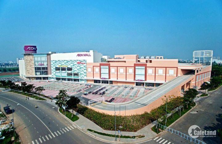 Bán nhà ngay cổng AEON Mall Tân Phú đường 21m khu sung kinh doanh mọi mặt hàng.
