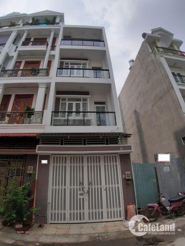Bán nhà Hẻm Víp Tô Hiệu P,Hiệp Tân Q,Tân Phú DT 4x14 4 lầu giá 6.7tỷ TL