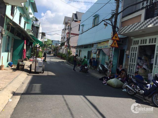 Bán nhà HXT đường Đỗ Thừa Luông, DT 4.05m x 17.85m, nhà 1 lầu. Giá 6.3 tỷ.