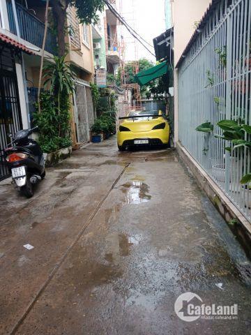 Bán Nhà đường Thạch Lam Quận Tân Phú dt 4mx13.5m hẻm 4m thông giá 4.3 tỷ,