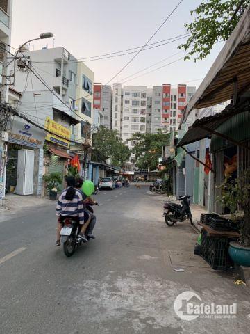 Nhà 2MT Hẻm đối diện Aoen Tân Phú,dt 4x13m, cấp 4,Giá 3.95 tỷ Tl