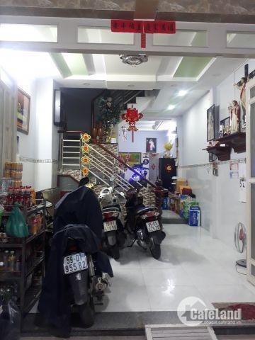 Bán nhà hẻm 6m Phú Thọ Hòa P,Phú Thọ Hòa Q,Tân Phú DT 4X16 đúc 3 tấm