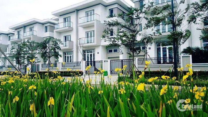 Cần bán gấp lô biệt thự k 336m2 mặt đường Nguyễn Văn Huyên kéo dài, đã hoàn thiện, Có thể ở ngay