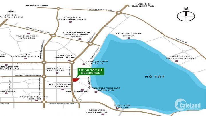 Tây Hồ Residence - 2PN, 85m2 chỉ từ 2,6 tỷ, Ck3%, LH: 085.817.5282