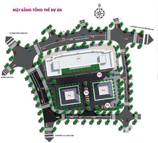 Bán chung cư Ruby Tower ngay tại Khu đô thị xanh thành phố Thanh Hóa