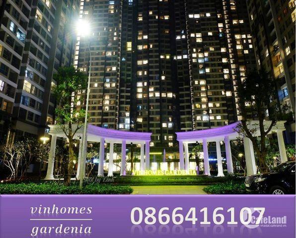 Bán căn hộ kinh doanh Vinhomes Gardenia. Căn 56m đang cho thuê 26 tr/th. Gía 2.35 tỷ. LH 0866416107