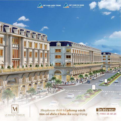 ĐXMT ra mắt dự án La Maison Premium, shophouse cao cấp đại lộ Hùng Vương.LH 0905384828