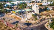 bán đất DT 15x26= 390m2 thổ cư 100% Trần Văn Giàu, đường nhựa 20m