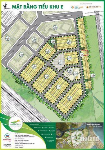 Bán nhanh 3 lô đất nền Khu E , dự án Goldeb Hills
