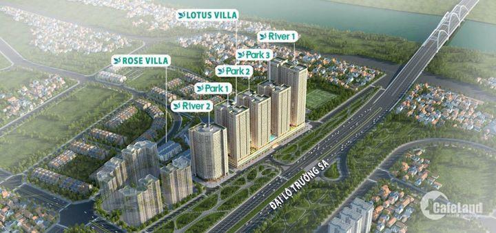 Bán Gấp căn hộ 73m2 giá 1,5ty - chung cư  tại Eurowindow River Park- Đông Anh- Hà Nội
