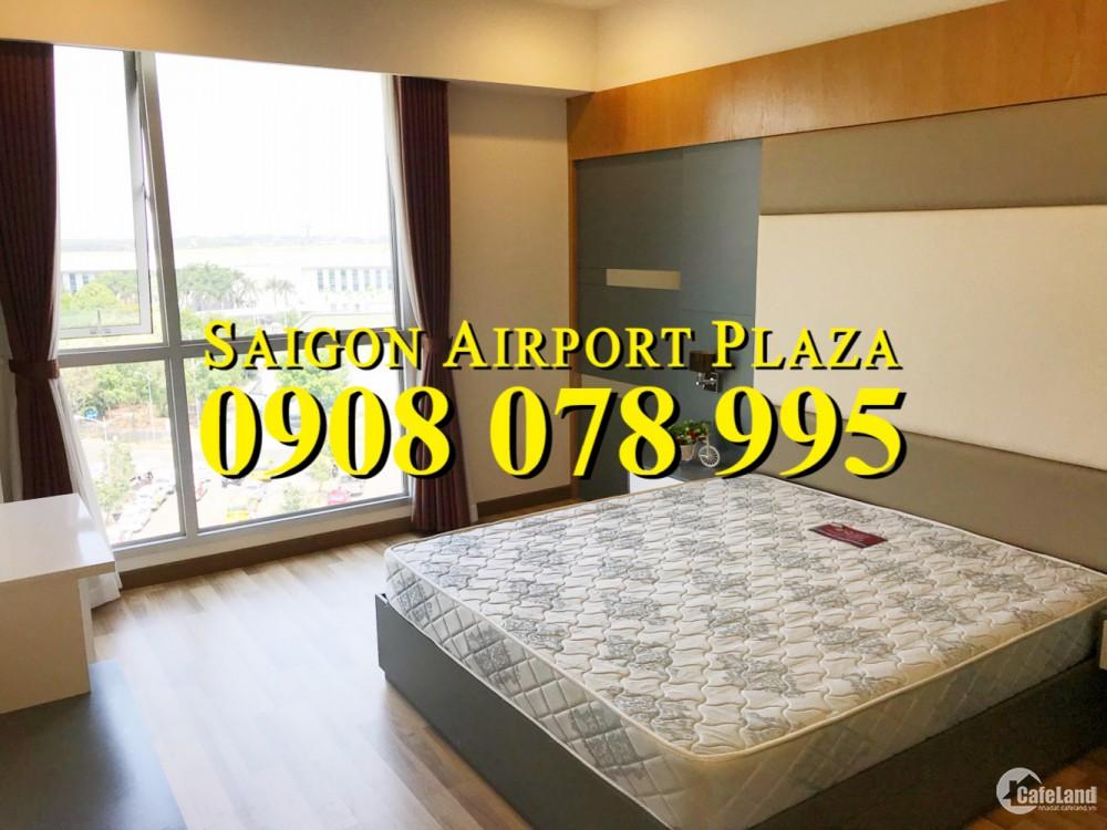 Sở hữu ngay CH 3PN Sài Gòn Airport Plaza Q. Tân Bình, nội thất mới 95%