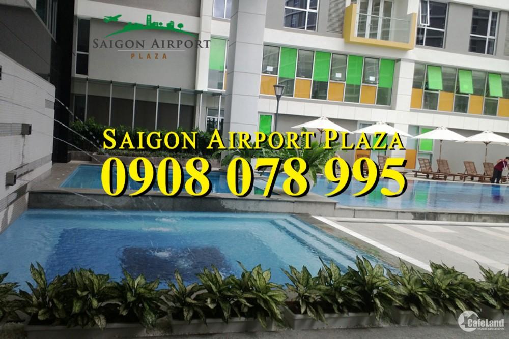 Bán gấp CH 3PN Saigon Airport Plaza Q. Tân Bình_156m2_đủ nội thất