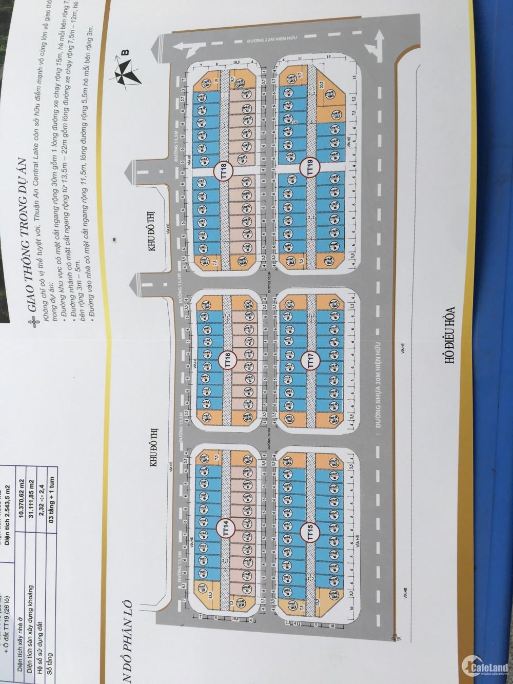 Cơ hội đầu tư và sở hữu dự án Shophouse, Thuận An Central Lake.