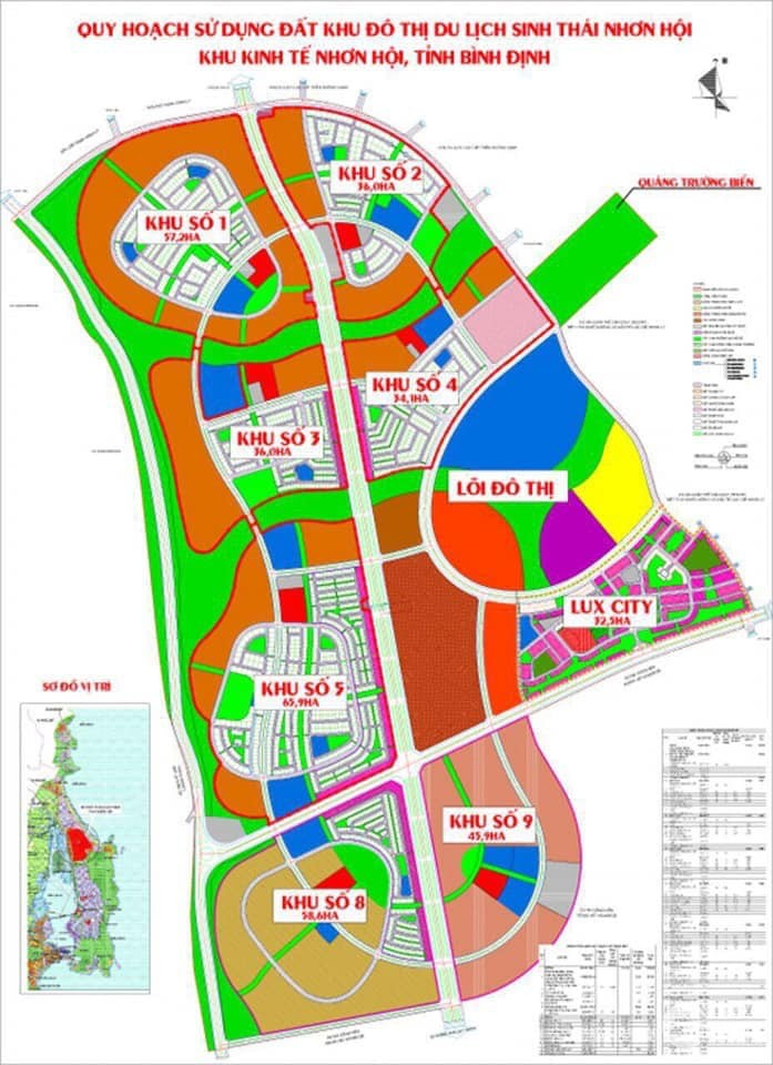 Quá nóng: Nhơn Hội New City phân khu tiếp theo giá chỉ 1.4 tỷ/nền