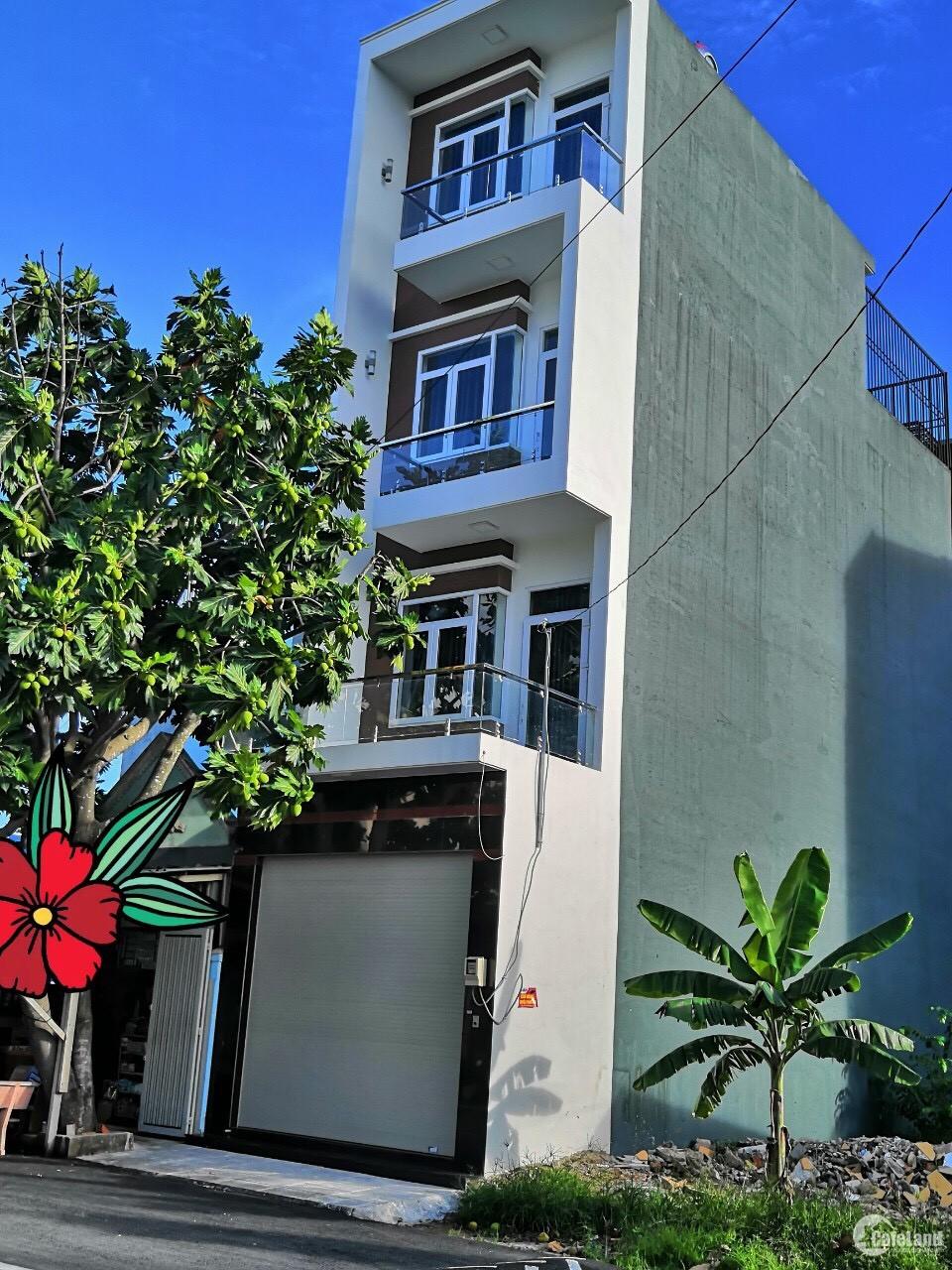 Bán nhà mặt tiền đường nhựa Tiền Lân 17, thuộc khu dân cư Bà Điểm 2, Hóc Môn.