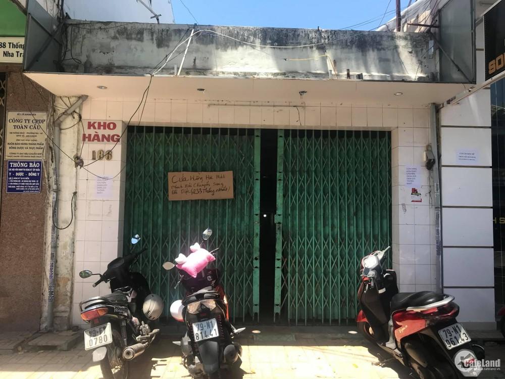 Bán Nhà Mặt Tiền 186 Thống Nhất, Phương Sài - Nha Trang-Khánh Hòa