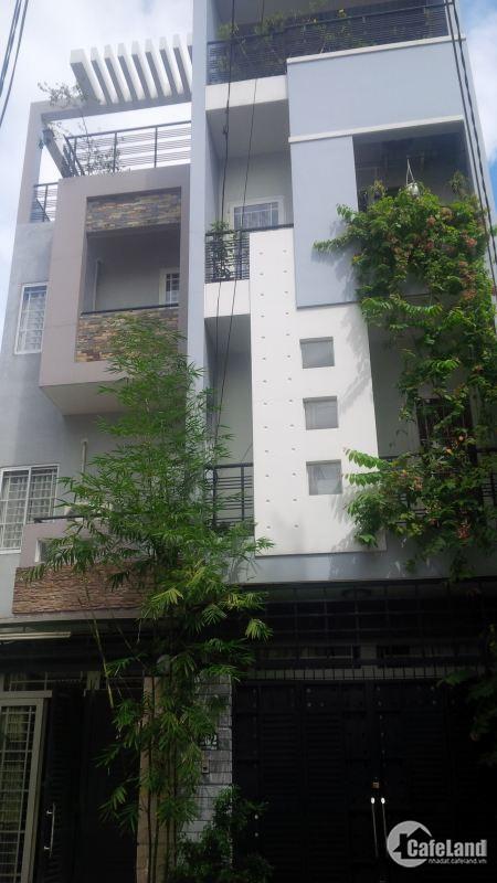 Chính chủ bán nhà Mặt tiền đường Nguyễn Văn Trỗi, Q.PN, DT 5m x 26m, Hầm 4L, 50