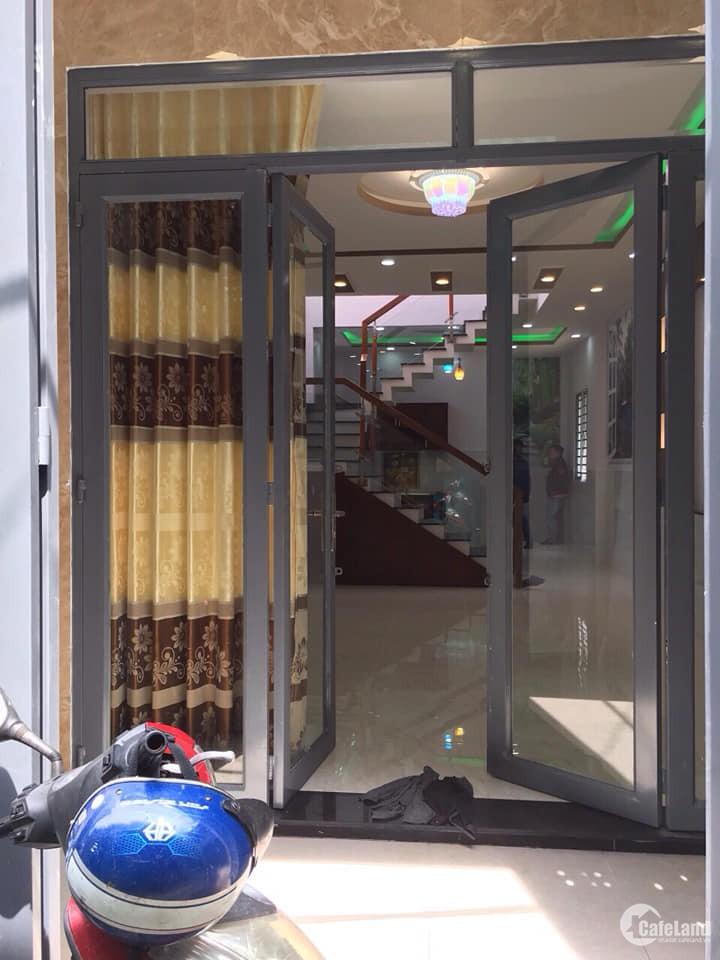 Bán nhà 1 lầu mới đẹp 2MT hẻm Phú Thọ Hoà