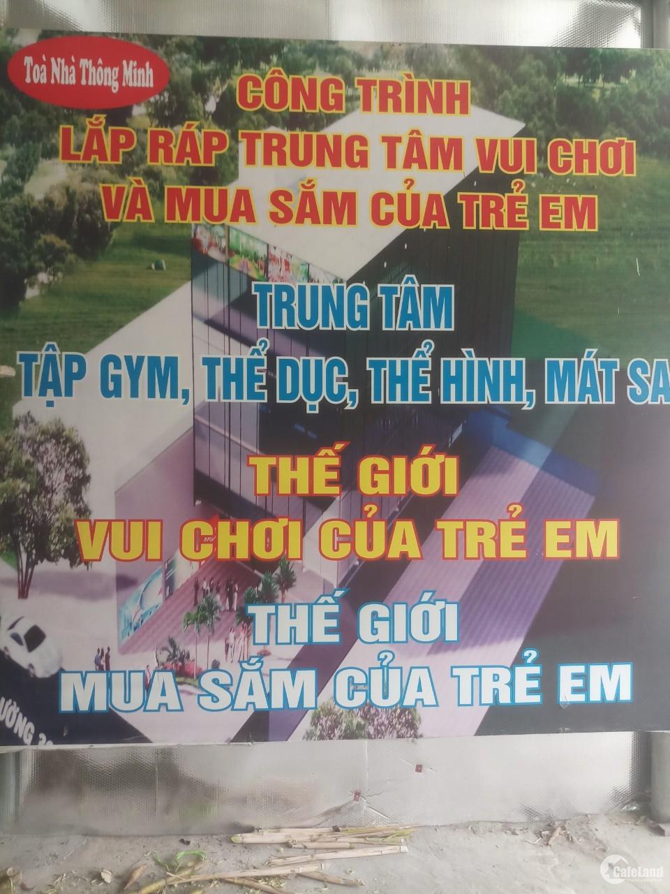 Bán nhà 4 tầng và đất khu vui chơi Tới Hương, H. Cẩm Giàng,Hải Dương