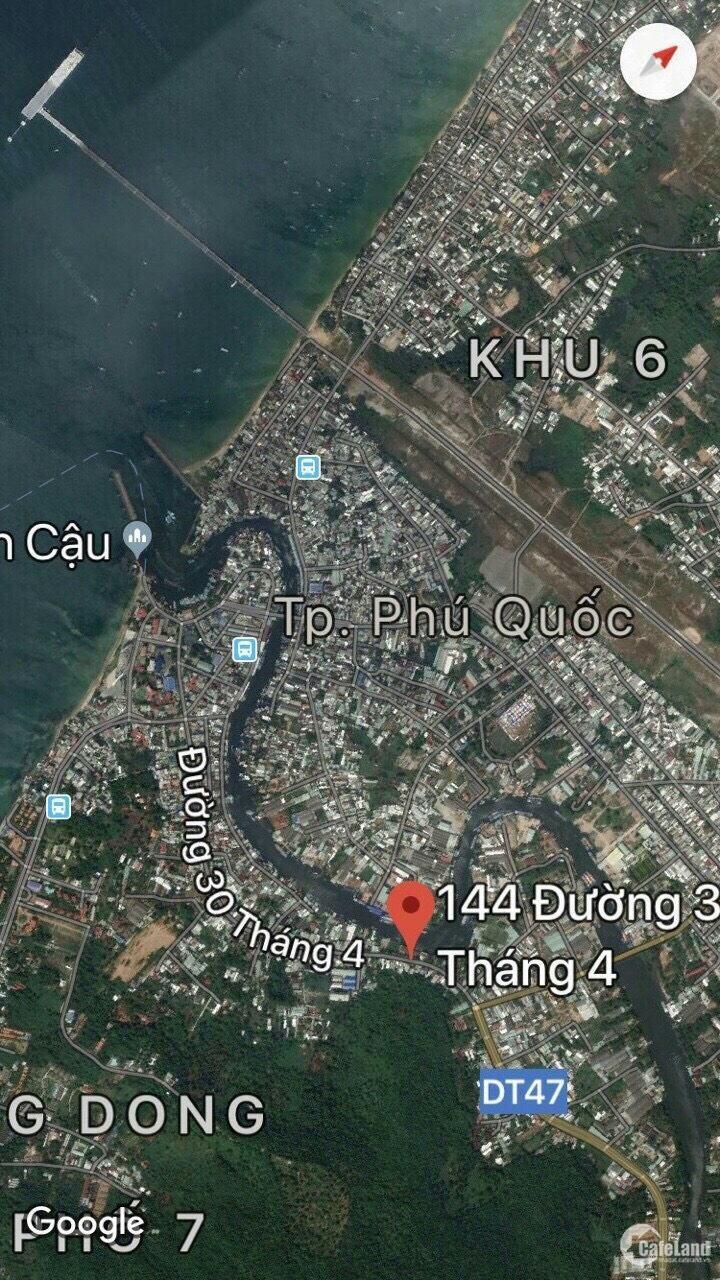 Bán đất đẹp 14x24m2, đường 30/4, thị trấn Dương Đông, Phú Quốc