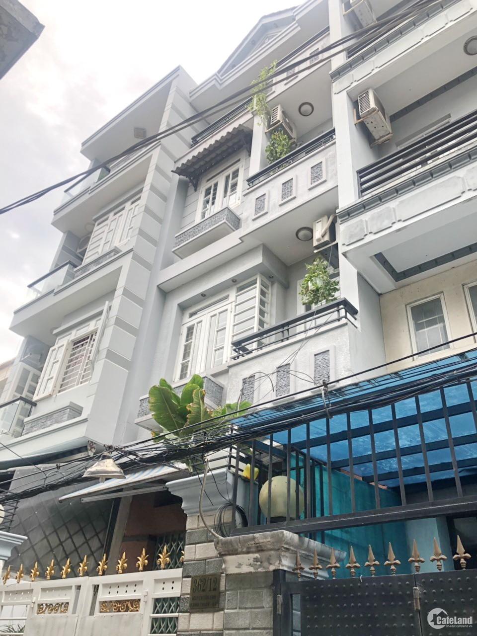 Bán nhà 3 lầu hẻm xe hơi Nguyễn Văn Linh Quận 7