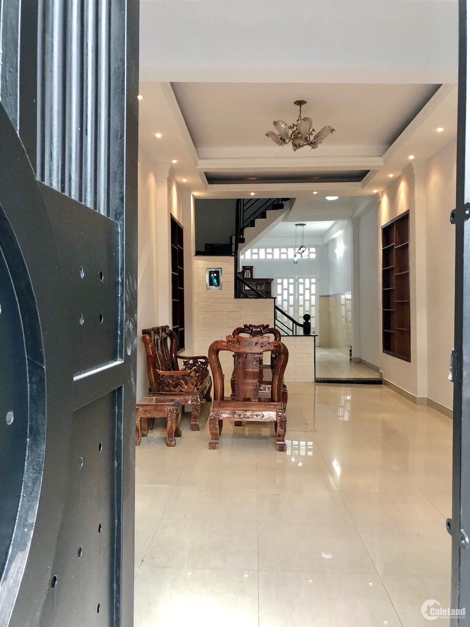 Bán nhà đẹp 3 tầng,sân thượng hẻm khu Nam Long-Trần Trọng Cung Quận 7