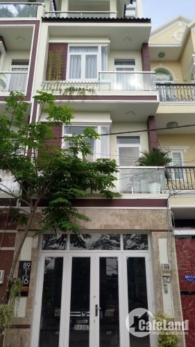 Nhà mới 1t3l,sổ hồng riêng, tiện kinh doanh,dt:4x12,Bình Tân