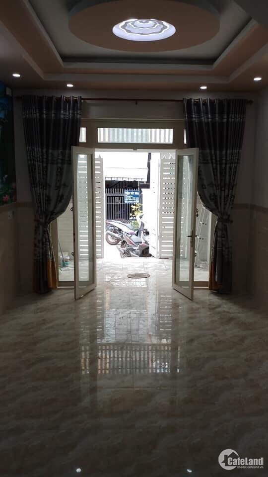 Chính chủ bán nhà đường Đỗ Thừa Luông DT 4x17m hẻm 4m