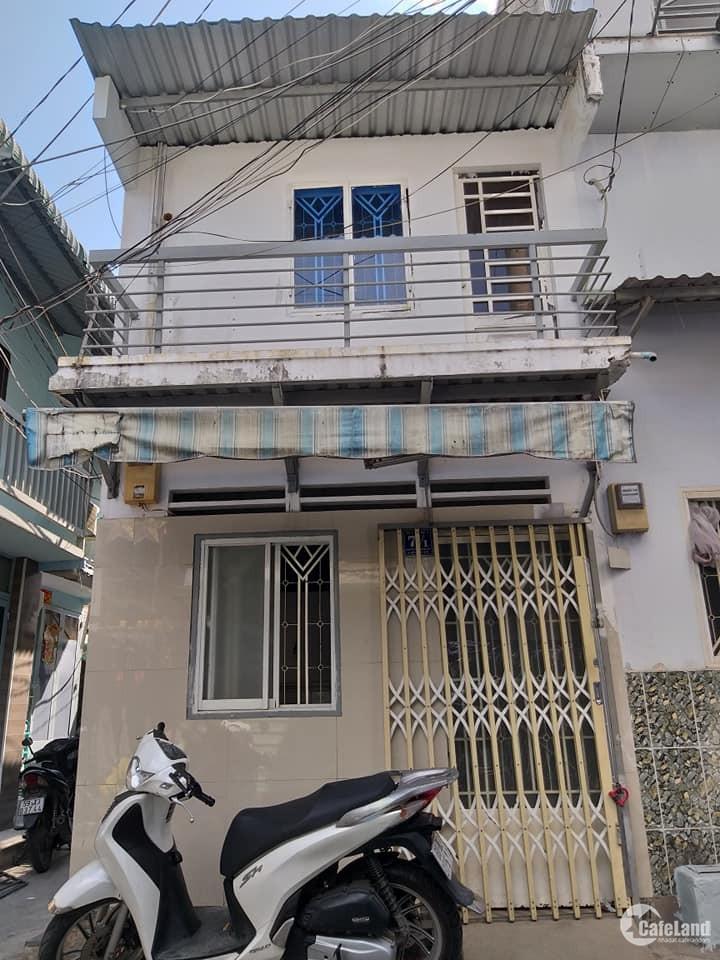 Chính chủ bán nhà 1 sẹc,2 mặt tiền,hẻm rộnng 4m,1TR 1Lầu giá cựcc rẻ khu Bình Triệu-PVĐ