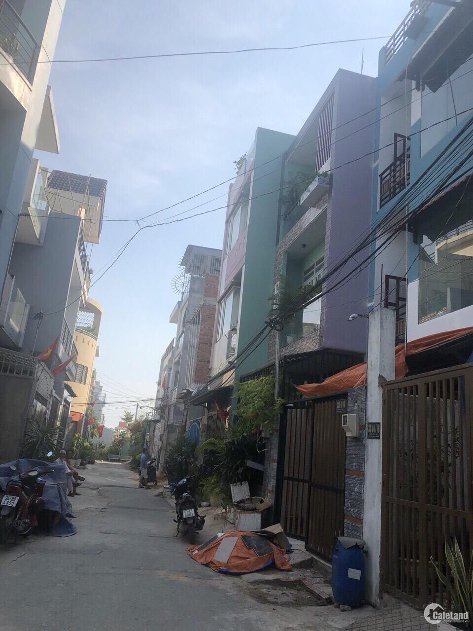 Bán nhà 1 trệt 1 lửng 2 lầu 1 tum đường 12, phường Hiệp Bình Phước, quận Thủ Đức