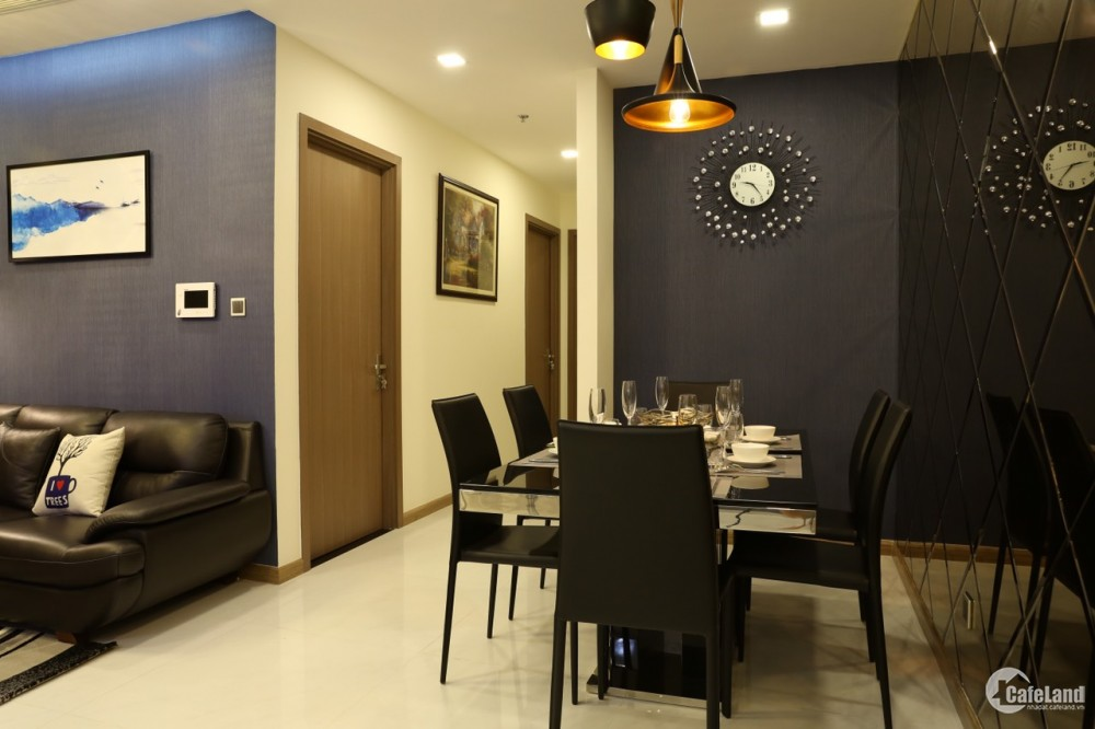 Cho thuê căn 3PN khu Park nội thất cao cấp Vinhome Central Park