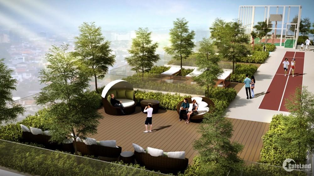 Hà Đô Centrosa Garden q.10_Cho thuê CH 1PN chỉ 17 triệu, tầng cao