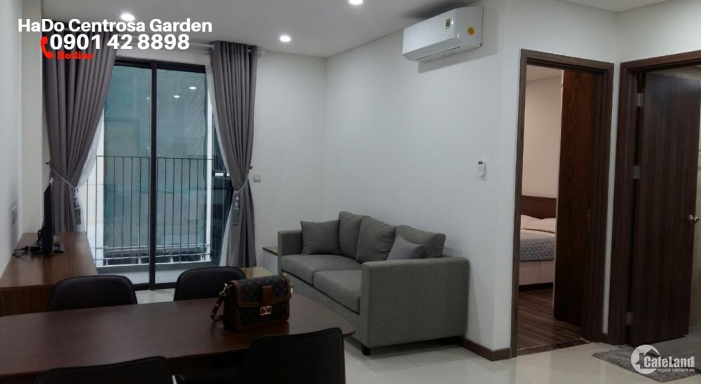 HOT DEAL_Hà Đô Centrosa Garden cho thuê CH 1PN có nội thất chỉ xách vali vào ở. Hotline PKD 0909 255 622