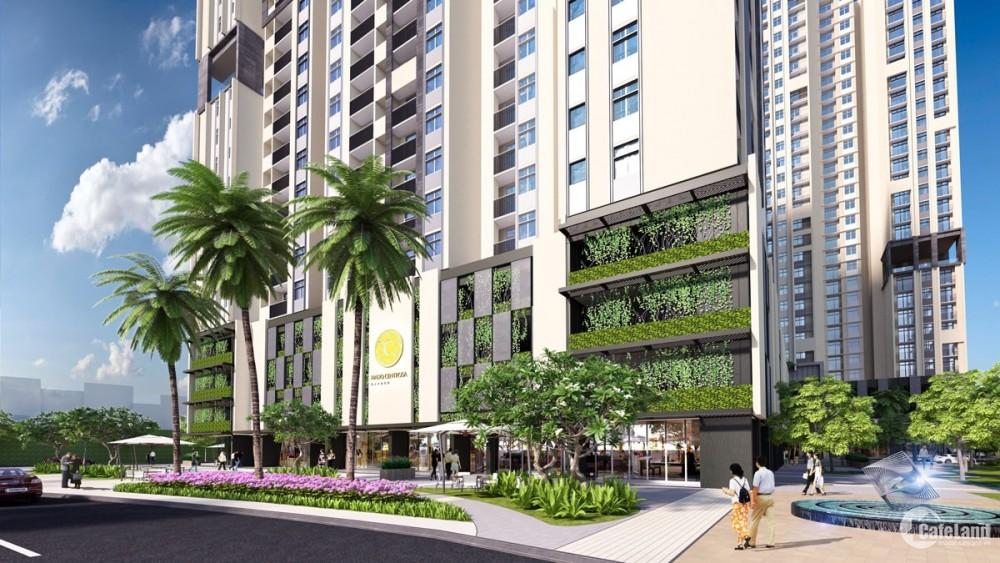 Hà Đô Centrosa Garden_CH 2PN+1_107m2 cho thuê, có nội thất, view hồ bơi