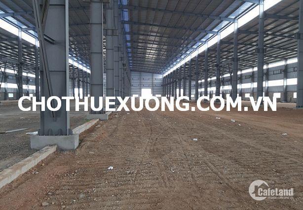 Cho thuê nhà xưởng mới xây tại Quán Goit Bình Giang Hải Dương DT 1,1ha giá tốt